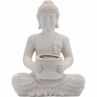Boeddha tuinbeeld lampje