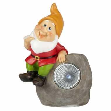 Solar tuinkabouter lamp david ,