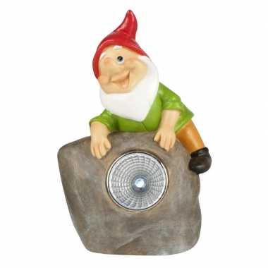 Solar tuinkabouter lamp pim ,