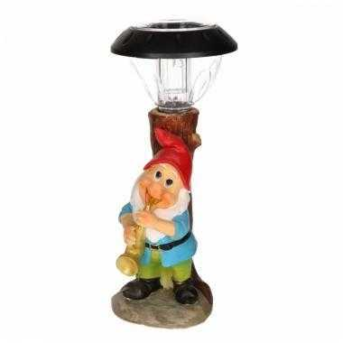 Solarlamp tuinkabouter saxofoon