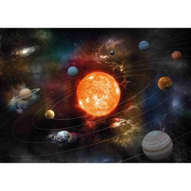 X posters planeten zonnestelsel / melkweg kinderkamer / school