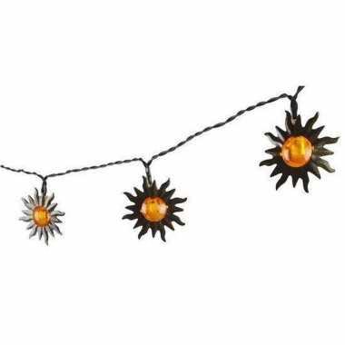 X solar lichtslinger zonnetjes zonne energie tuinverlichting