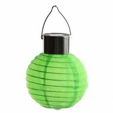 X stuks groene lampionnen zonne energie buiten