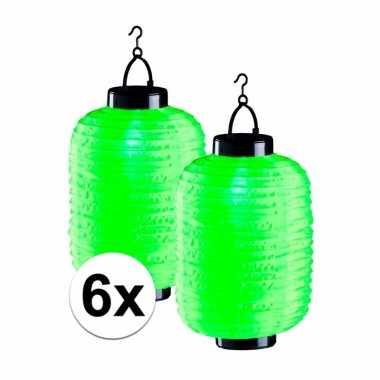 X tuin / balkon lampionnen zonne energie groen