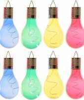 X solarlamp lampbolletjes peertjes zonne energie blauw groen geel rood 10163930