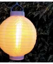 X stuks luxe solar lampion lampionnen wit realistisch vlameffect 10203715