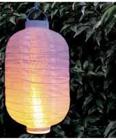 X stuks luxe solar lampion lampionnen wit realistisch vlameffect 10210341
